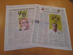 RN und WAZ mit BVB-Interview