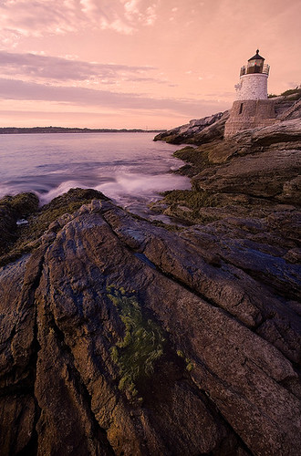 Castle Hill Light, Newport Rhode Island