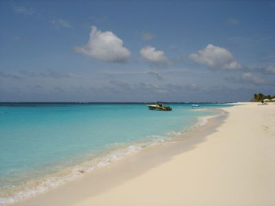 beach on anguilla