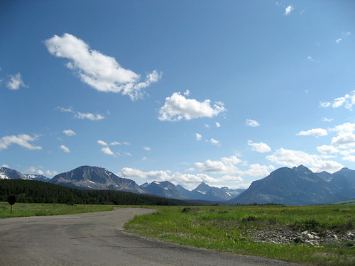 Just outside of Glacier NP