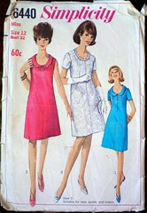 Simplicity 6440 from 1966