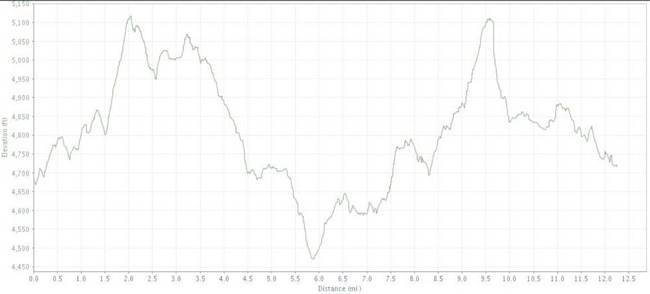Worlds elevation graph