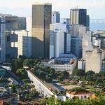 Lapa vista de Santa Teresa - Brasil - Rio de Janeiro - Brazil - carnaval