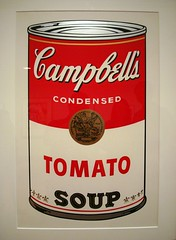 Tomato (from Campbell's Soup I) (IslesPunkFan) Tags: art museum painting tomato soup screenprint can pop andywarhol warhol met campbellssoup metropolitanmuseum metropolitanmuseumofart