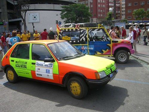 Coches mongol rally