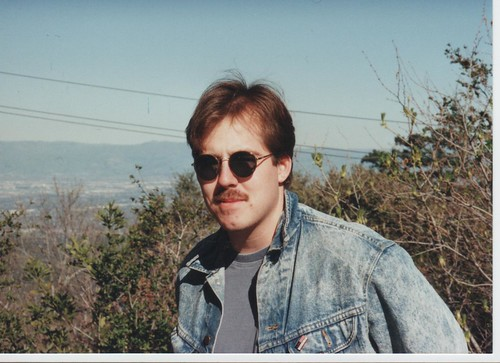 scott on skyline drive circa 1991