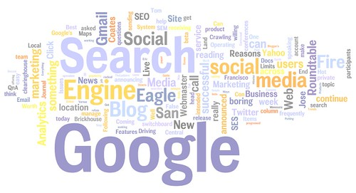 search engine land wordle