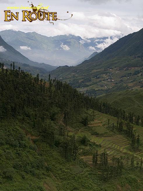 Sapa Valley Mountain Range