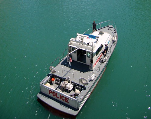 Chicago Police Marine Unit Boat