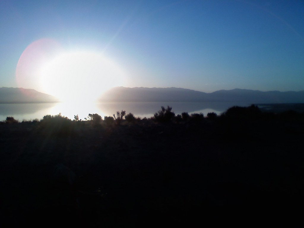 LG Voyager - Sunrise at Antelope Island