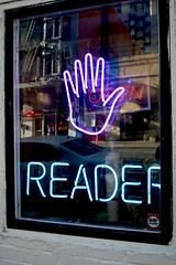 Open Palm Reader (Generik11) Tags: sf signs architecture neon places foundinsf gwsf gwsf5party gwsflexicon