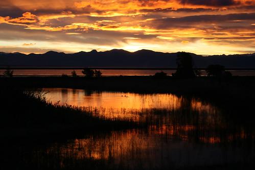Sunset at Wakapuaka Flats