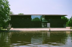 Boat House (Ed.ward) Tags: trees england sky film water river university oxford rowing boathouse expired 2008 oxforduniversity nikonf80 expiredfilm fb:uploaded=true fb:request=true nikkor2880mmf3556afd iphone:request=true