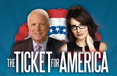 McCain/Fey: The Ticket for America