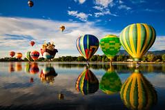 Colorado Balloon Classic - Day 2 (iceman9294) Tags: blue red sky hot color festival balloons nikon colorado air hotair balloon coloradosprings hotairballoon hotairballoons ballooning wmp memorialpark d300 coloradoballoonclassic prospectlake thegalleryoffinephotography
