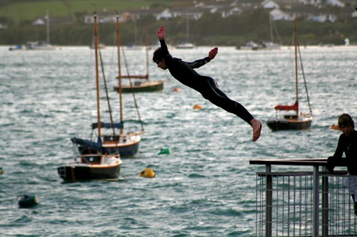 Harbour jumping