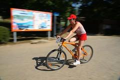 DSC04026 (Petiny) Tags: sun bike sport swimming dead happy republic czech running biking czechrepublic cameltoe nuda teambuilding vranov triatlon guysinspeedos dektrade chicswithcameltoes