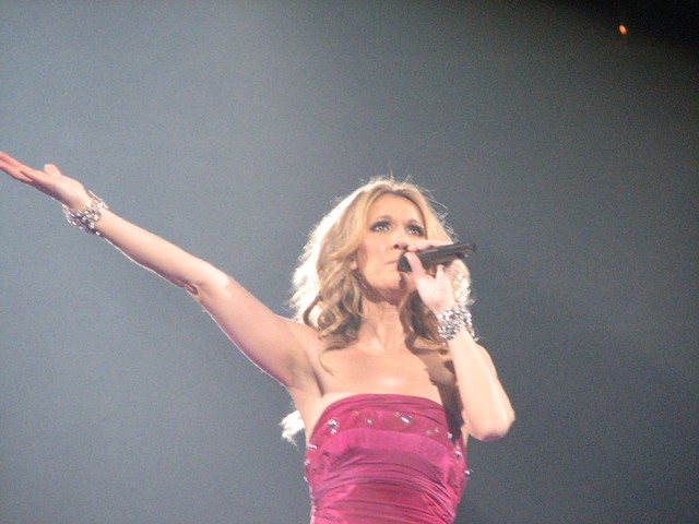 dc washington 2008 september8 celinedion verizoncenter