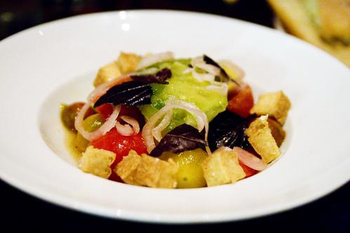 Eckerton Hill Farm's tomato salad