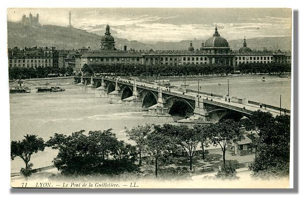 71 LYON - Le Pont de la Guillotière