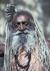 Traditional India #15 (foto_morgana) Tags: people india amber asia religion beggar spiritual jaipur rajasthan sadhu holiness hindouism bhikhsa