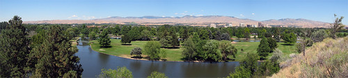 Summer Panorama - Boise