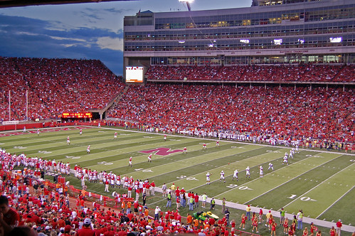 Memorial Stadium : Home of the Nebraska Cornhuskers