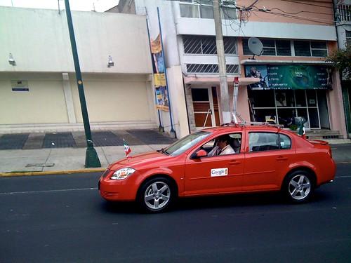 Google car en México