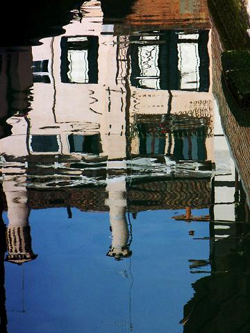 Canal Reflection - Dorsoduro - Venice, Italy
