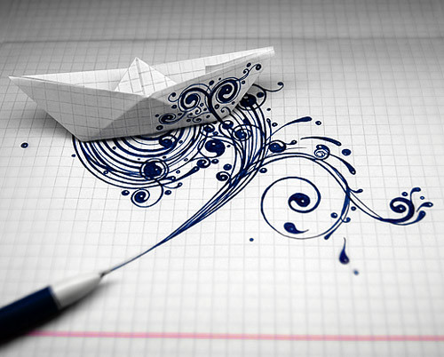 ink ship by shch_andrey.