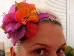 Flower in my hair