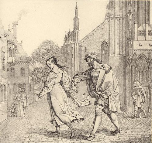 19- Fausto ofrece a Gretchen  el brazo