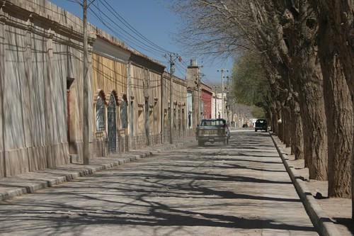 Humahuaca street scene.