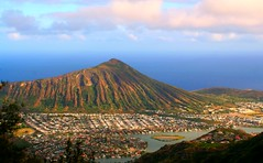 Oahu - Koko Head (okbends) Tags: ocean mountain hawaii oahu crater kokohead