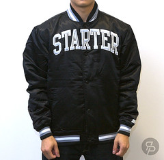 Starter Arch Collegiate Jacket - Raider Black