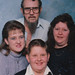 Family friend Eddie Allen, wife Joyce, children Rhonda and Rex