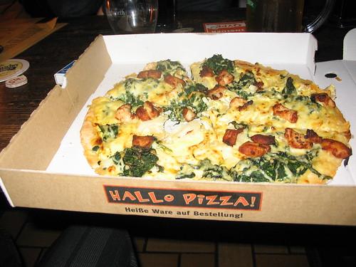 Diese Pizzen werden nackt ausgeliefert: Lieferservice