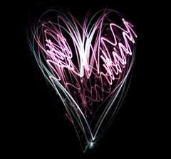 heart (mikkotoiviainen) Tags: light canon project painting photography eos 50mm nc with heart aib torch 1d lee paintingwithlight f18 gel ef mkii