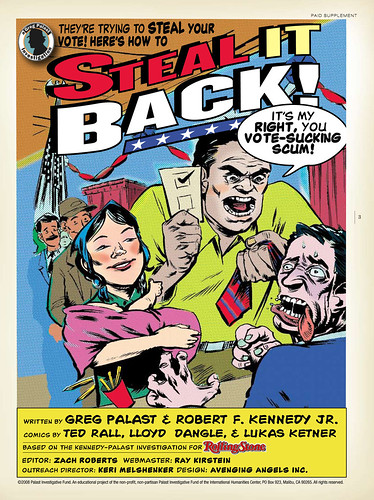 Steal Back Your Vote! Title Page by Greg Palast.
