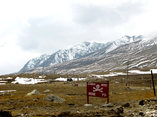 Mines at India / China Border
