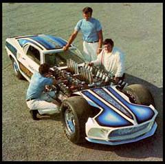 "Gary Weckesser's ""Mach IV"" Four-engine Mustang (twm1340) Tags: ford vintage 4x4 cleveland quad mustang dragster 351 weckesser garyweckesser"