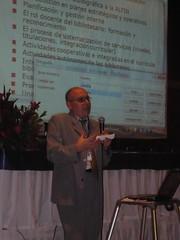 Jose A. Gomez en su cinferencia sobre Alfin