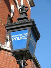 Metropolitan Police Sign (Jekiri) Tags: city uk blue england sky urban london alarm lamp station sign danger court photography town photo justice dangerous order cops traffic image britain authority 911 picture police safety collection prison criminal help crime lampost jail murder service british law stolen safe enforcement emergency protection helpful lawyer metropolitan officer lawenforcement patrol legal arrest steal protect inmate fugitive 999 lampstand officers jurisprudence enforce uphold imagecollection jekiri
