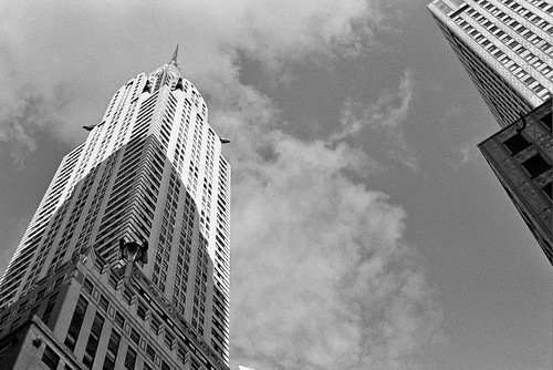 Chrysler Building - Shot with B&W Film: Nikon F4