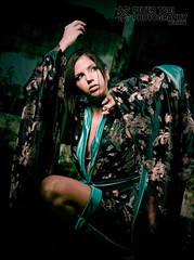 Timea (Peter Tsai Photography) Tags: dark dance costume scary cross peter processing timea kimono mm tsai hungarian strobist