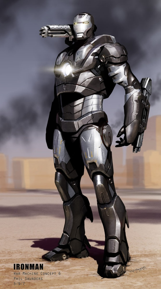 War Machine Concept art