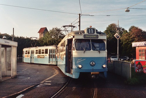 Tram at Saltholmen