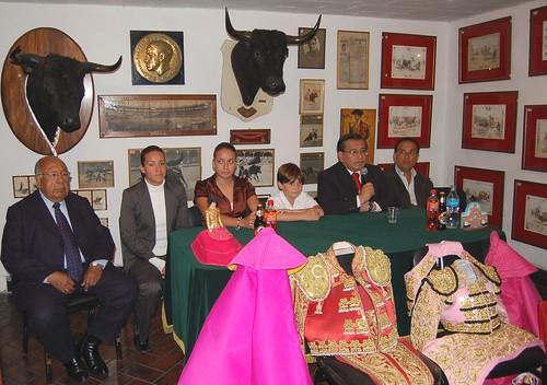 Conferencia Novillada promocional Acho 2008