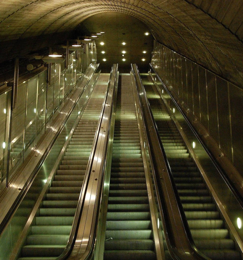 Rulletrapp - Escalator
