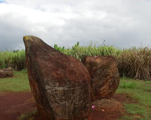 Kukaniloko Hawaiian Birthing Stones On Oahu Go Visit Hawaii